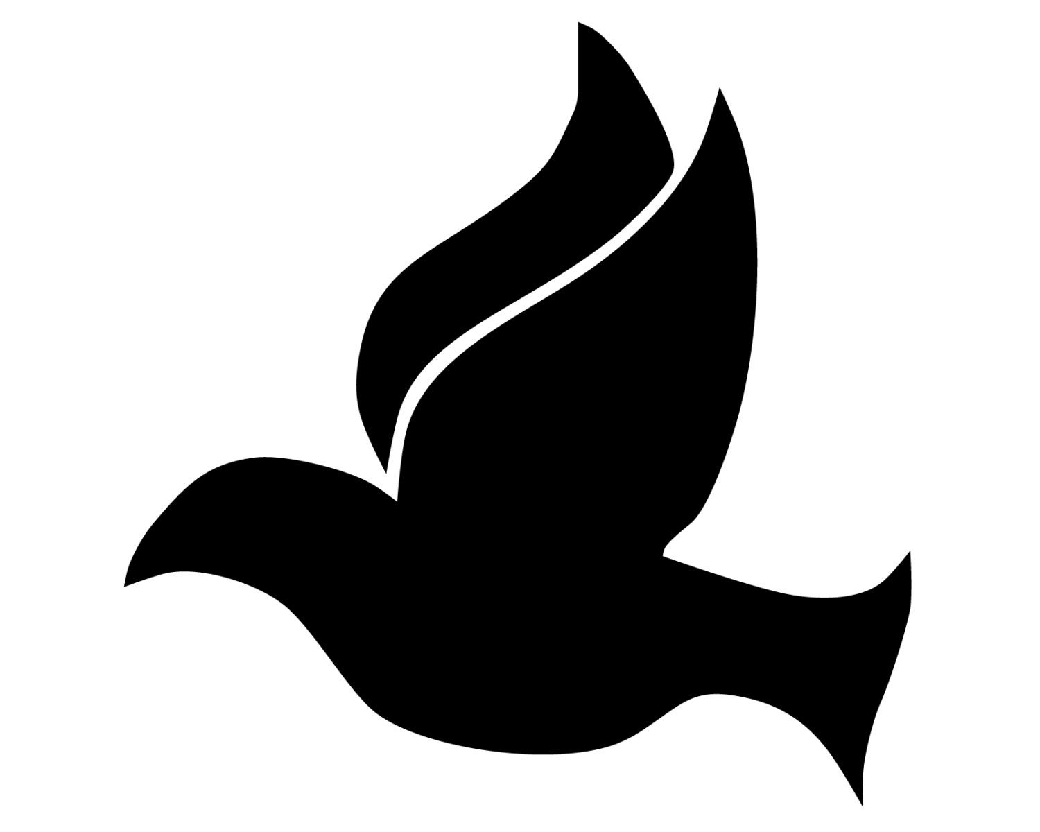 Christian Peace Dove Decal Dove Symbol Bumper Sticker Etsy