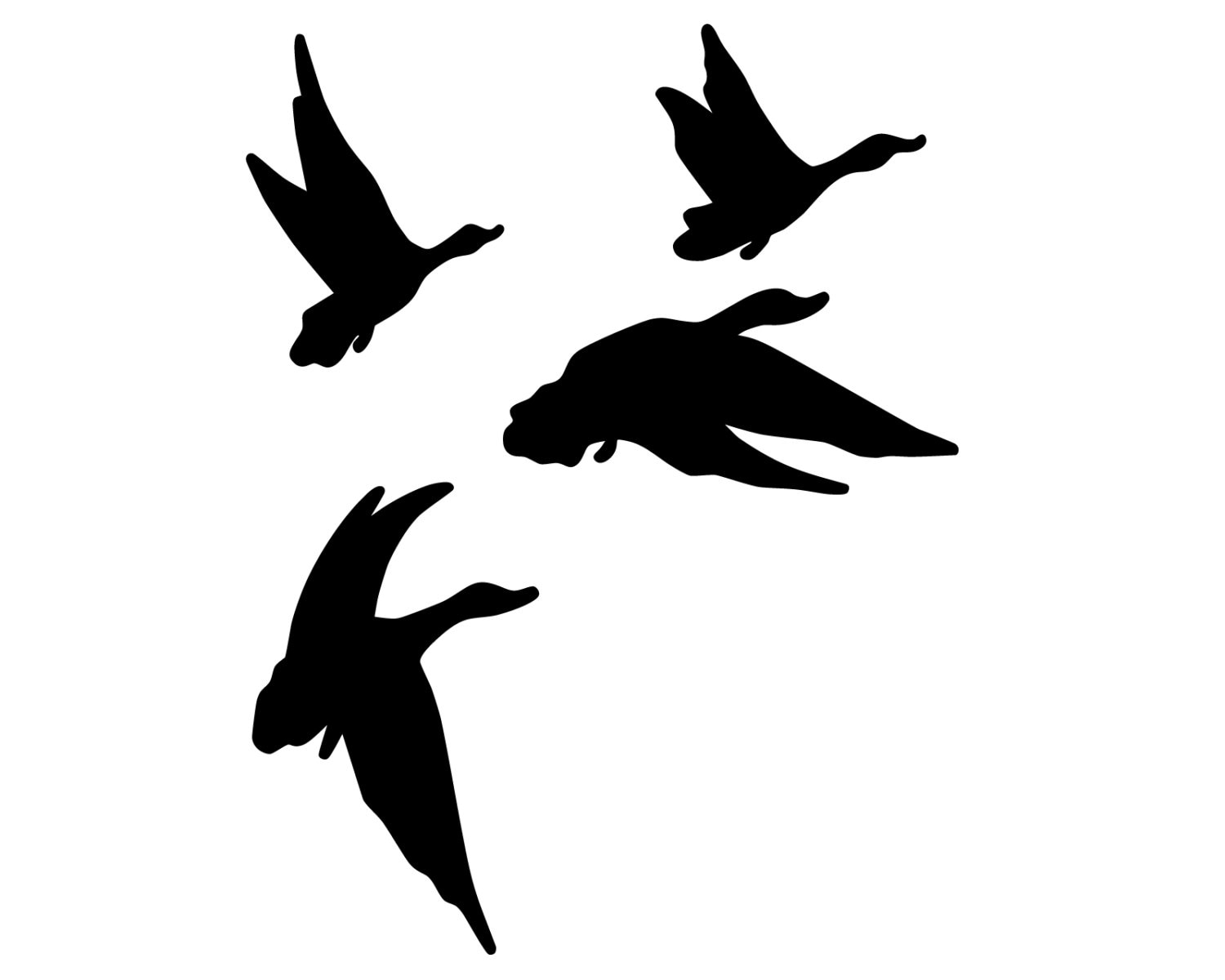 Duck hunting vinyl sticker geese hunter decal flying geese etsy