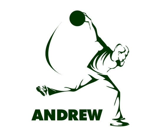 Bowling Alley Pin Strike Bowler Graphic Decal Sticker Car Vinyl