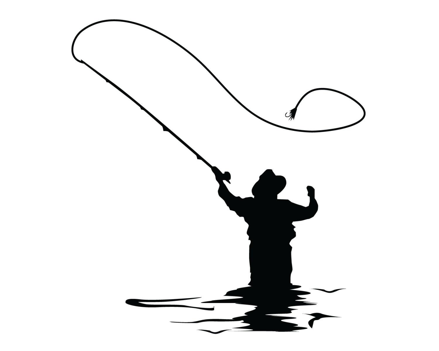 Fliegen Fischen Abziehbild fliegen Fisch Aufkleber | Etsy