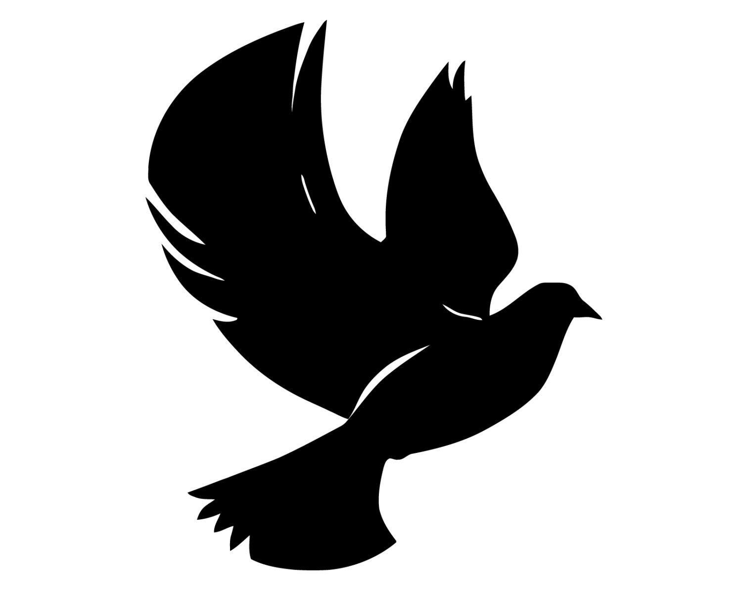 Christian Peace Dove Decal Dove Symbol Sticker Peace Dove Etsy