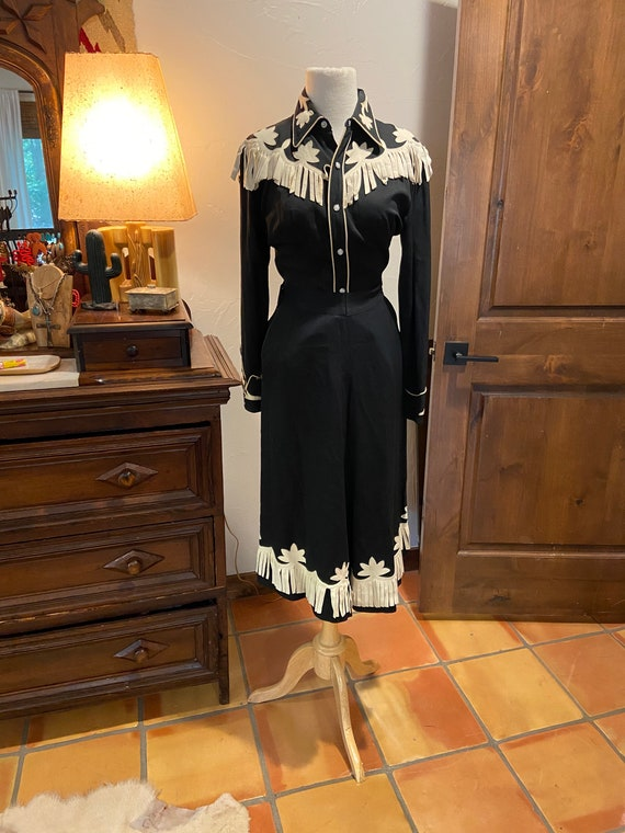 1940s California RANCH WEAR Top and pants