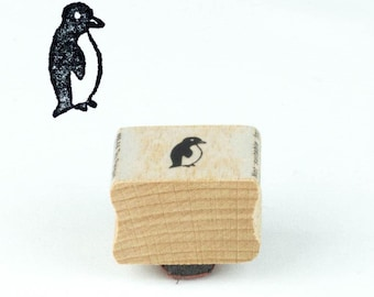 Emperor Penguin Profile Rubber Stamp for Stamping Crafting Planners