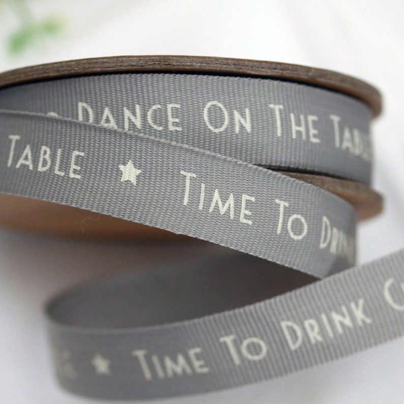 Gift East of India Ribbon Christmas Do not open until 25th December 3m Craft