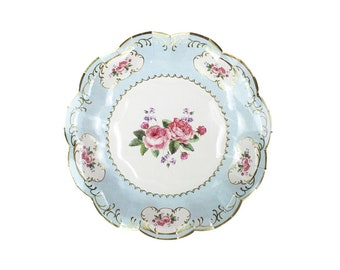 Truly Chintz Small Paper Party Plates Vintage Floral Tea Party Plates Pack of 12