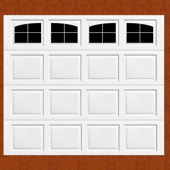 Carriage House Style Faux Windows Garage Door Vinyl Decals No Faux Hardware