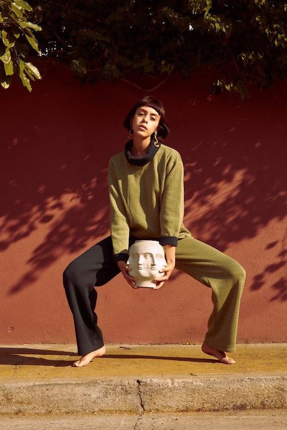 Wool Sweater/Pant Set
