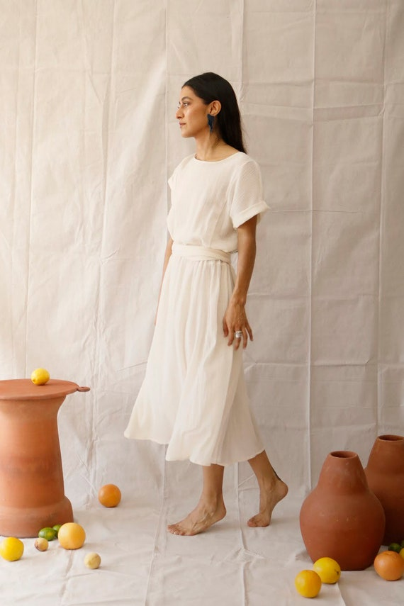 Rosalina cotton gauze dress