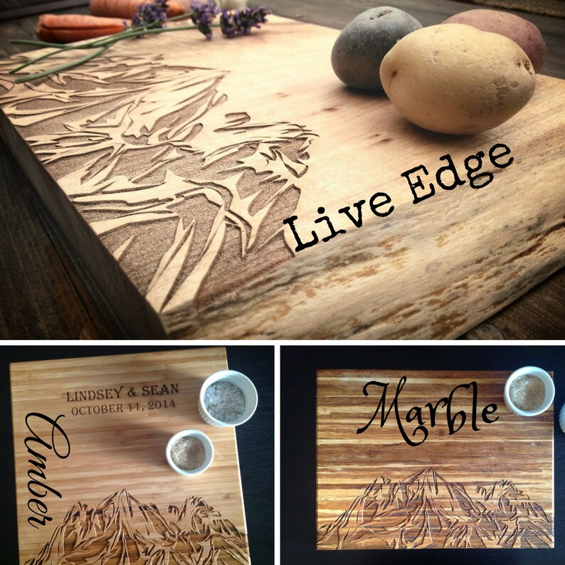 BBQ Bamboo Custom Engraving Beach BungalowBoo BAE WATCH Cutting Board Shark