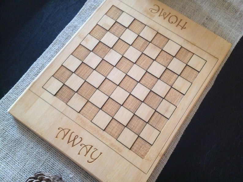Personalized CheckersChess Board Who said you couldn/'t play with your food??