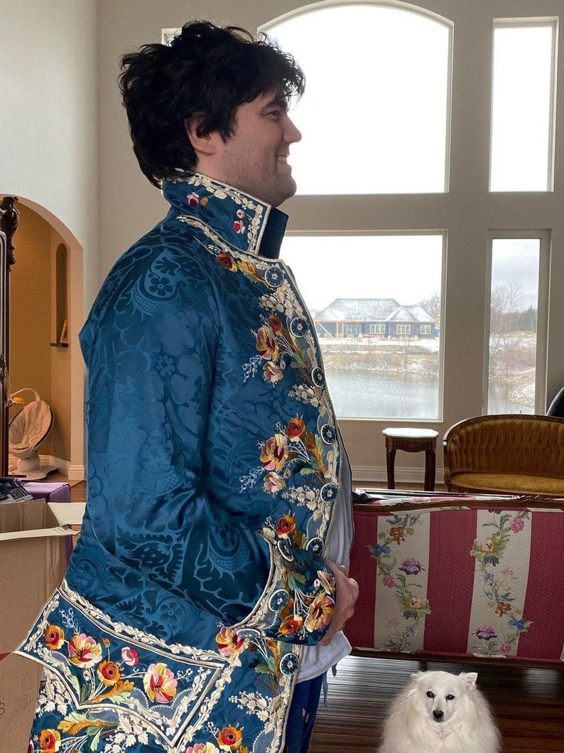 and breeches 1780s court suit Frock coat EMBROIDERY FILES ONLY Count Axel Von Fersen Court Suit Embroidery Files for Waistcoat
