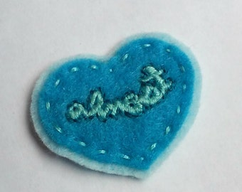 Tenderheart Badge: Almost (patch, pin, brooch, magnet)