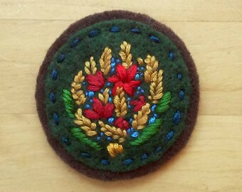 Autumn's Yield Badge (patch, pin, brooch, magnet)