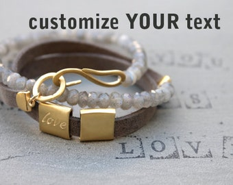 Anniversary Gifts for Women Jewelry, Engagement gift for fiance, Romantic gifts for her, Love Bracelet Wife gift idea, Romantic Jewelry gift