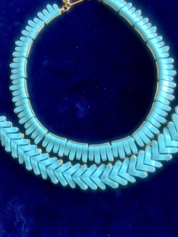 TRIFARI VINTAGE SET vintage trifari necklace /brac