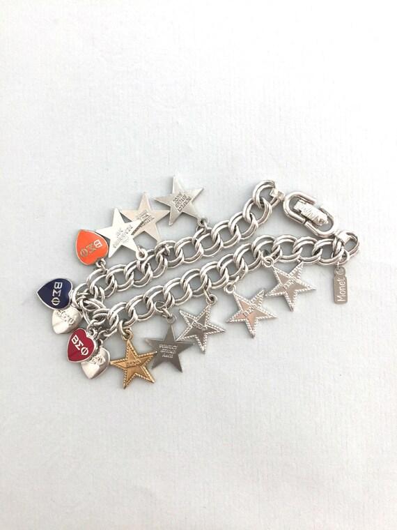 MONET CHARM BRACELET Vintage Monet charm braceler… - image 4