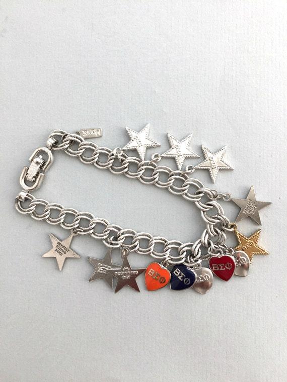 MONET CHARM BRACELET Vintage Monet charm braceler… - image 2