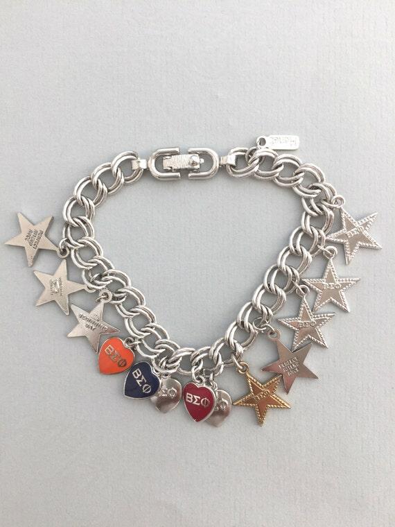 MONET CHARM BRACELET Vintage Monet charm braceler… - image 3