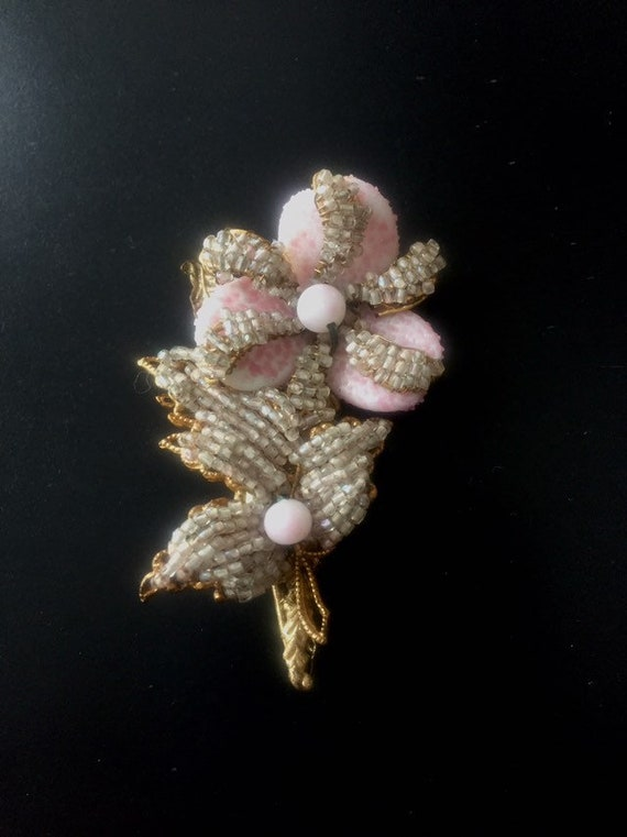 MIRIAM HASKELL PIN 1940s antique miriam haskell br