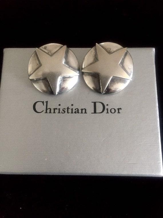 Christian Dior Earrings vintage chr dior earrings