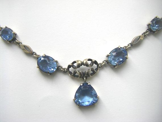 ART DECO NECKLACE Sterling Art Deco necklace. 1930
