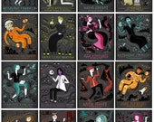 Women in Science DEAL: The Whole Series, 16 individual Art Print