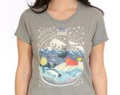 T shirt: Arctic Ecosystem Terrarium