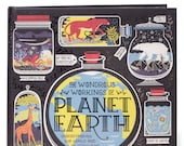 The Wondrous Workings of Planet Earth, hardcover book, custom signed book by author.