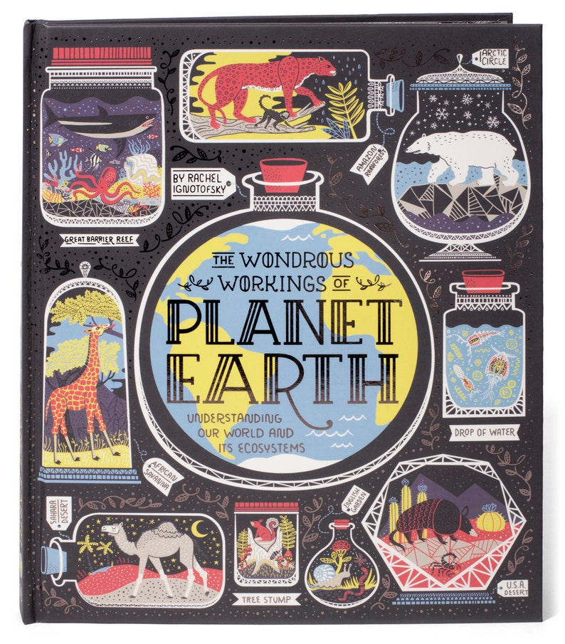 The Wondrous Workings of Planet Earth hardcover book custom image 0