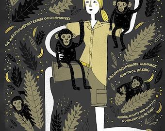 Women in Science: Jane Goodall