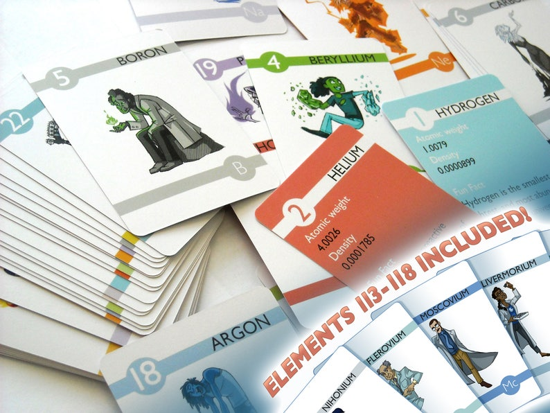 Elements  Experiments in Character Design Flash Cards image 0