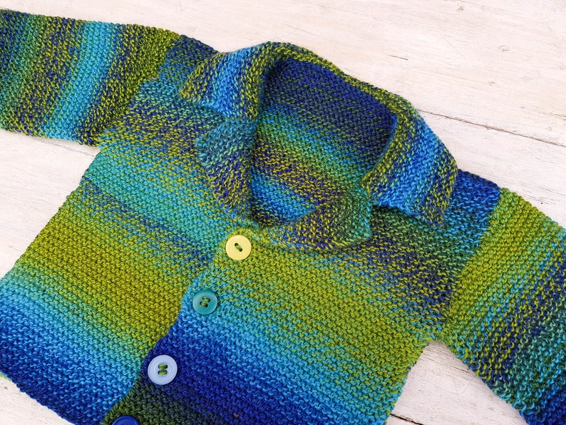 9938612ca KNITTING PATTERN Connor Cardigan Baby Boy Cardigan Toddler