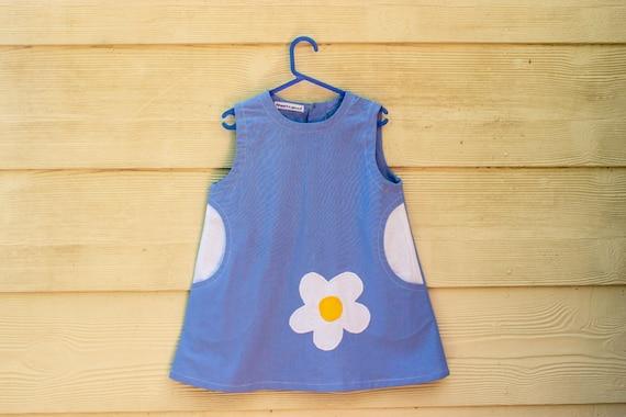 SEWING PATTERN Girls Pinafore Dress Pattern Baby Dress