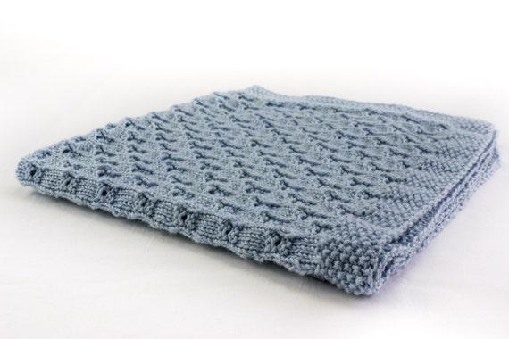 Knitting Pattern Baby Blanket Knitting Pattern 8 Ply Yarn Etsy