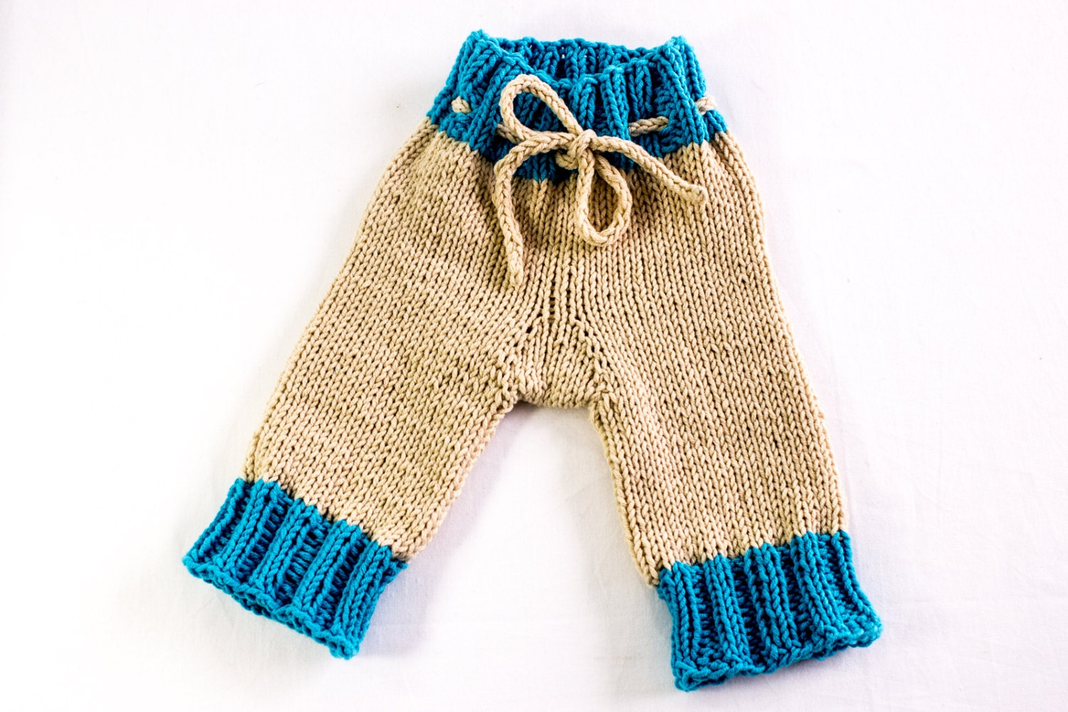 KNITTING PATTERN, Knitted Designer Baby Pants, Baby Shorts , Baby ...