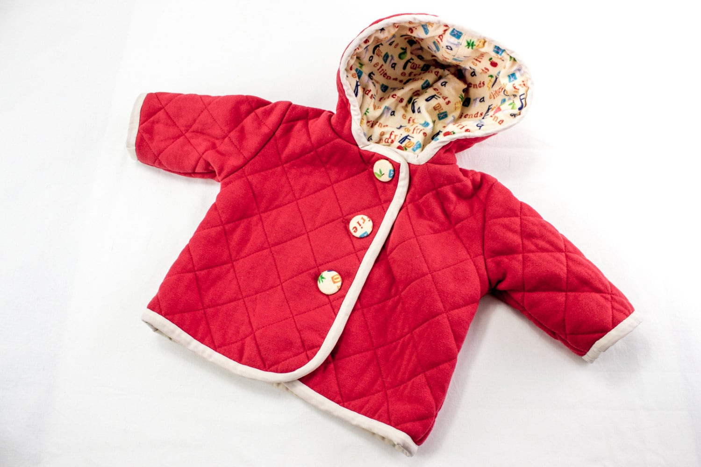 1fc781b5f55a SEWING PATTERN Baby Jacket Sewing Pattern Baby Jacket
