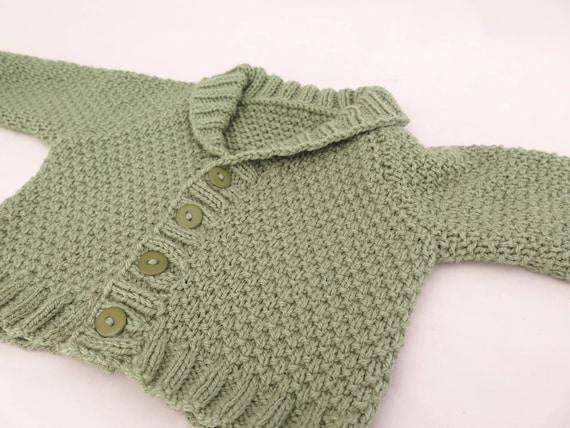 Knitting Pattern Charlies Cardigan Shawl Collar Etsy
