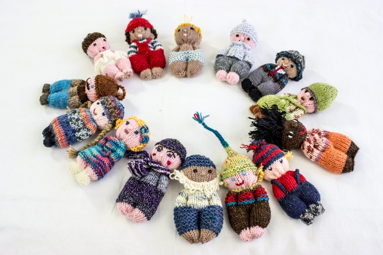 KNITTING PATTERN, Doll ,Toy, Pocket Doll, PDF, Amigurumi Knitting ...