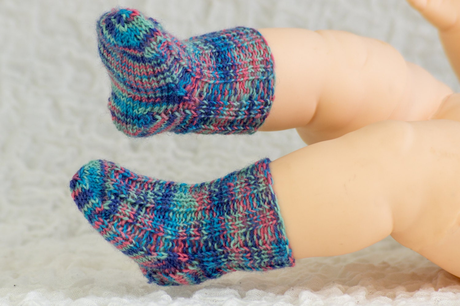 FREE KNITTING PATTERN, Baby Socks Sample Pattern, Free Baby Knitting ...