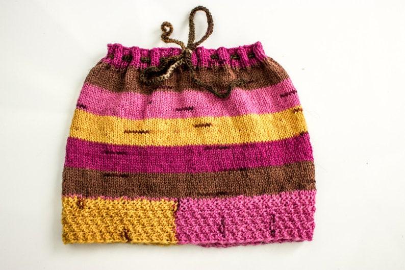 1d6e1f78a9c8 KNITTING PATTERN Baby Girls Skirt Knitted Baby Girl Winter | Etsy