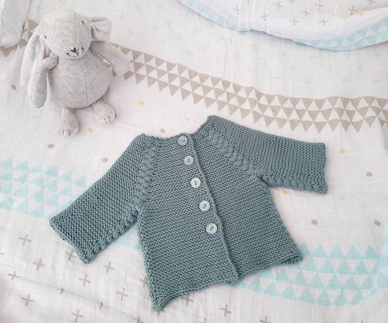 897e70fd8b KNITTING PATTERN Seppi Cardigan Baby Cardigan Toddler