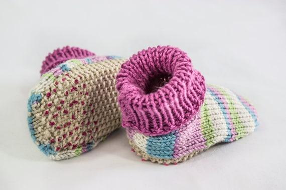 Knitting Patterntoddler Baby Slippers Baby Slippers Knitting
