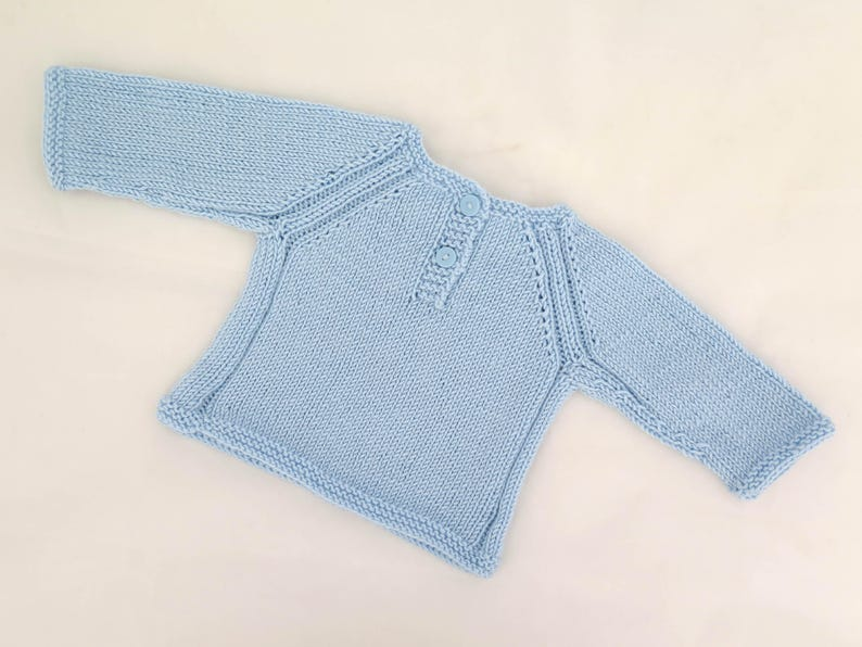 KNITTING PATTERN, Raglan Sweater, Top Down Sweater, Best Buddy Jumper,  Seamless Sweater, Baby, Toddler, Child Sizes, One Piece Boys Pullover