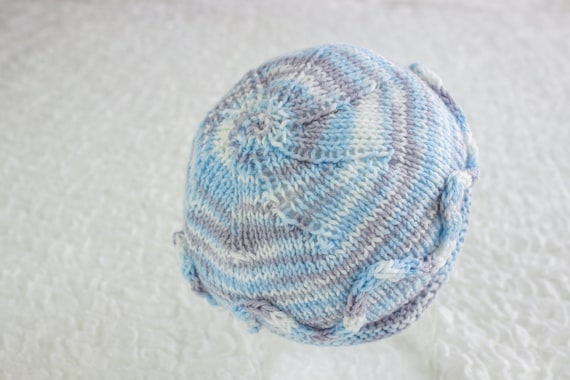 Free Knitting Pattern Simple Newborn Beanie Newborn Hat Etsy