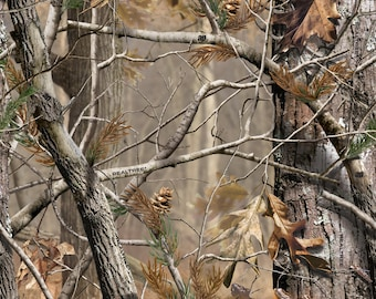 Realtree Camo is the most real looking outdoors pattern . It lives up to its name Camouflage. You can Scrapbook with it or make a great card