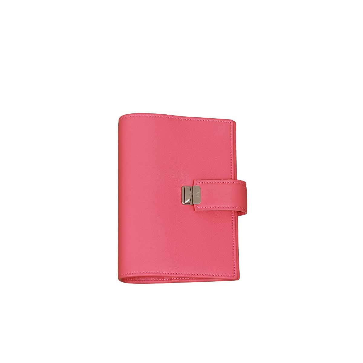 Peony Leather Binder Personal Leather Planner Large Rings