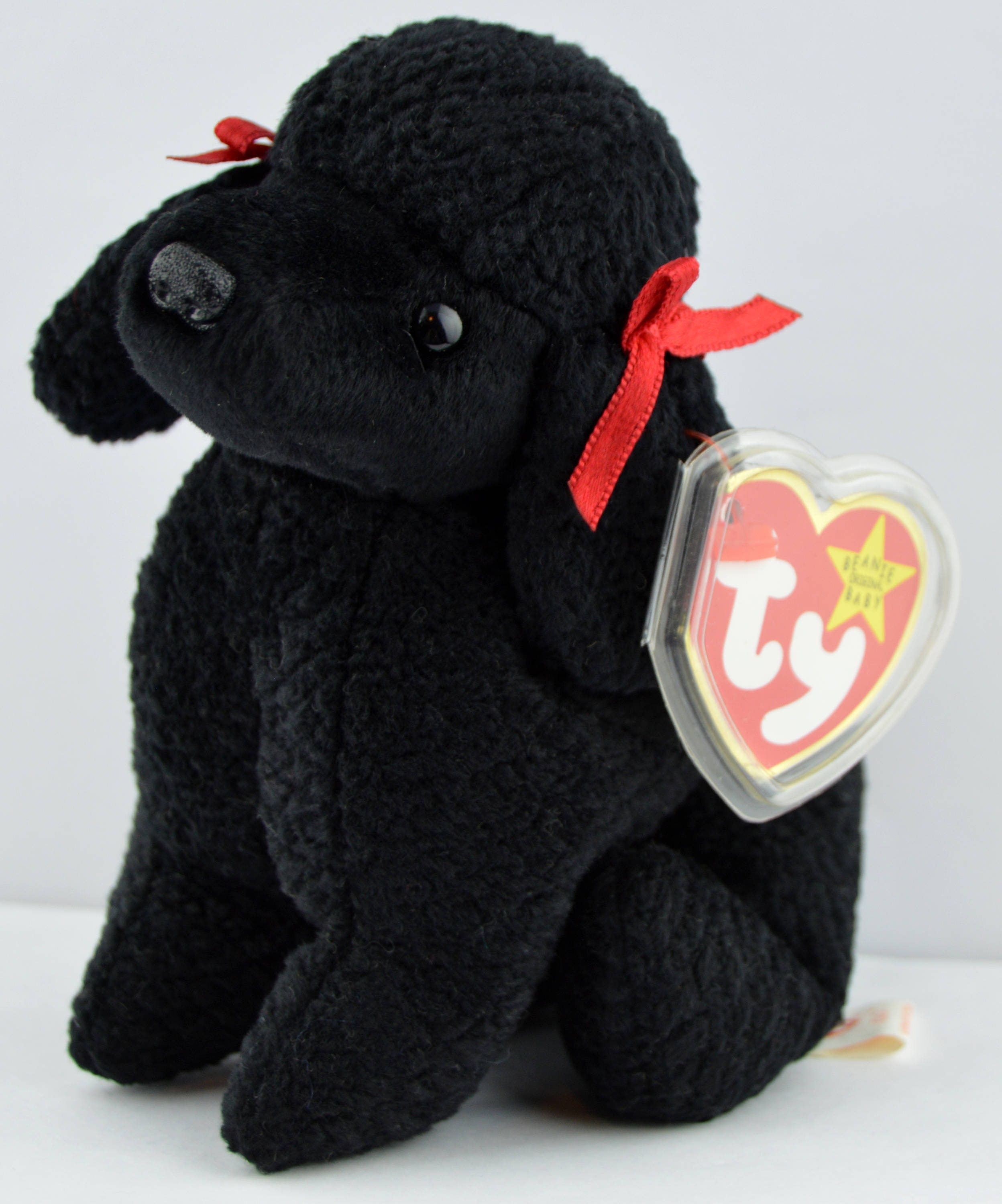 bc9dfda5e2e Ty Gigi the Black Toy Poodle Dog Beanie Baby Retired