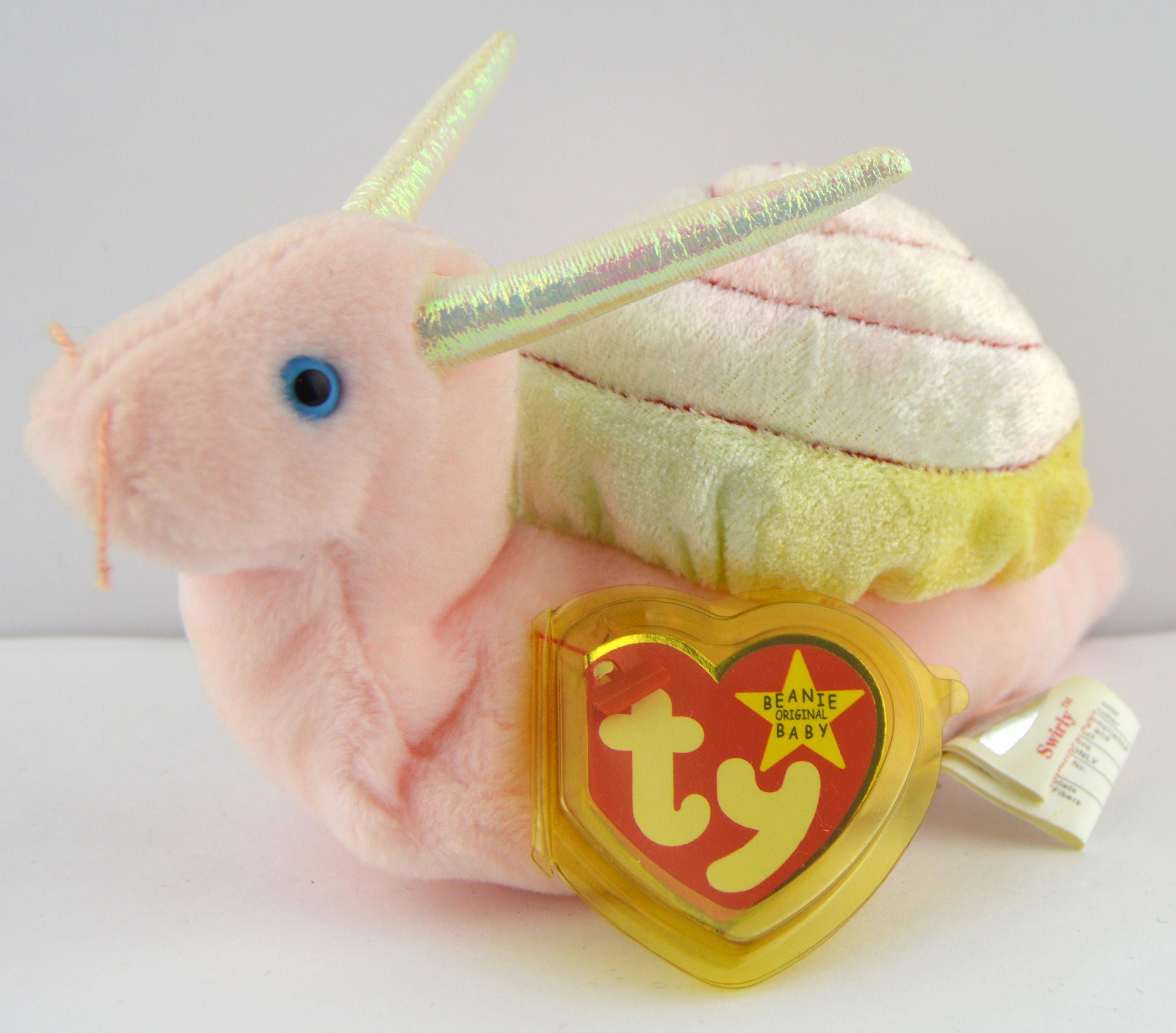 Ty Swirly the Snail Beanie Baby Retired  3ad8d9ba6a5