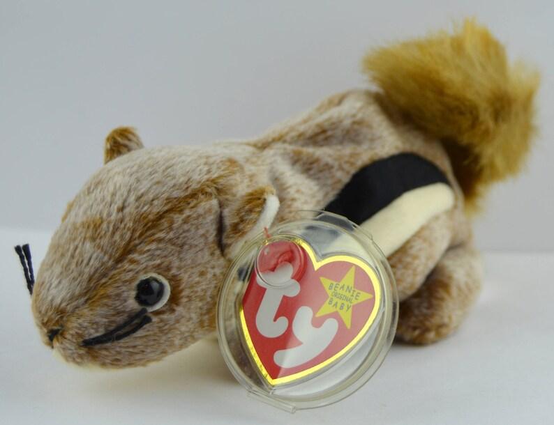 c88550f201f Ty Chipper the Chipmunk Beanie Baby Retired