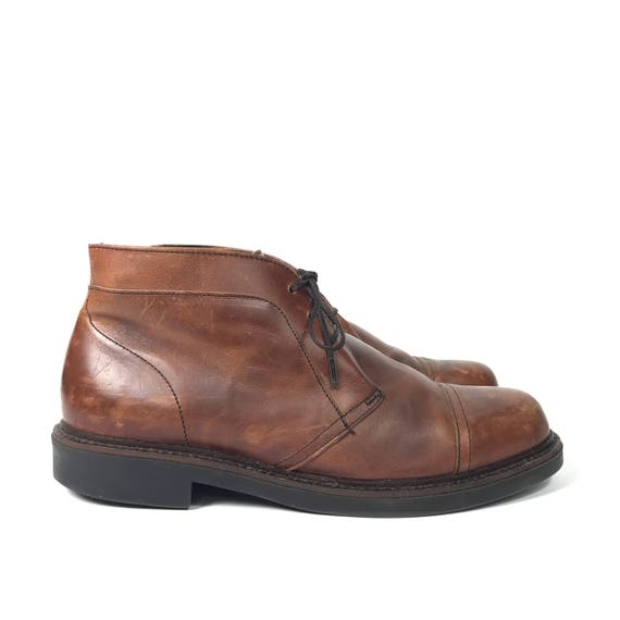 bdad9b8302b1b Size Mens 9 - Vintage Brown Ankle Boots - US Mens 9 - Roundtree & York